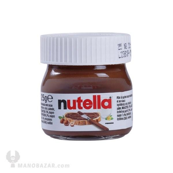 تصویر شکلات صبحانه نوتلا مینی : 25 گرم