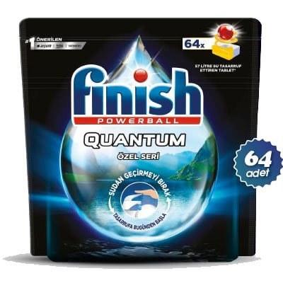 تصویر قرص ماشین ظرفشویی فینیش کوانتوم ۶۴ عددی اصلی