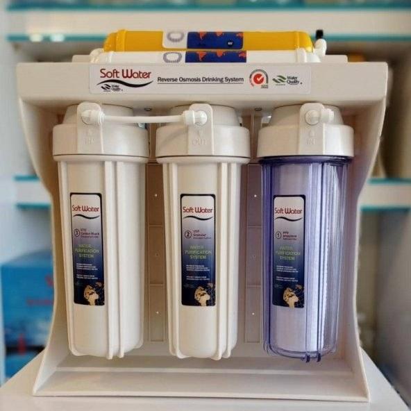 تصویر دستگاه تصفیه آب ۶ مرحله ای ساده (ارسال رایگان)