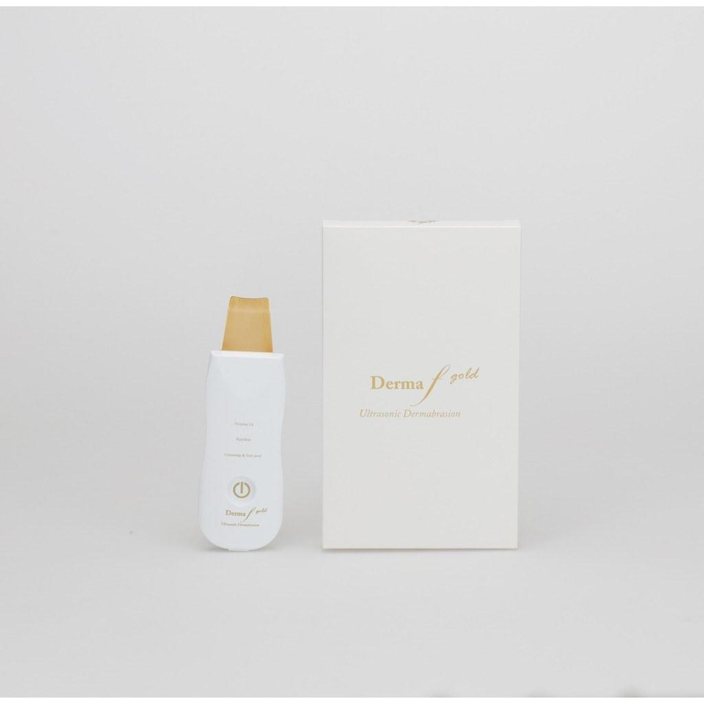 تصویر دستگاه درما اف گلد کره مدل Gold Scrubber ا Derma f Gold Skin Scrubber Derma f Gold Skin Scrubber