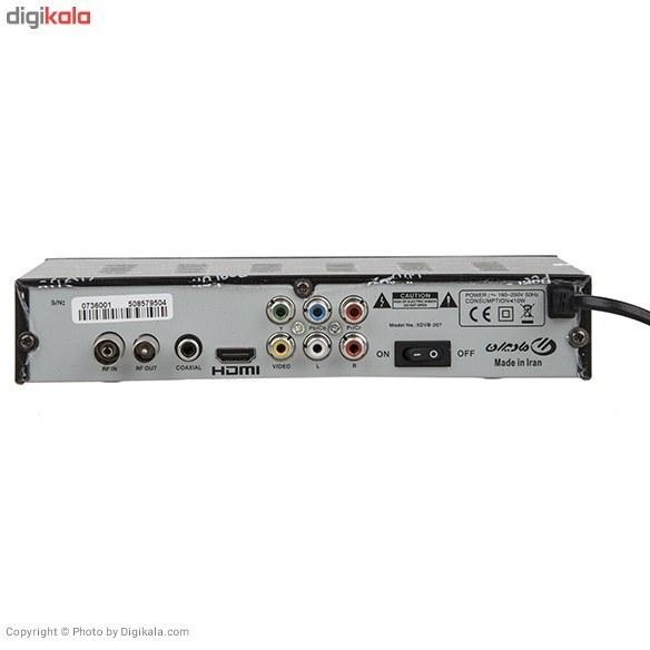 تصویر گیرنده تلویزیون دیجیتال ایکس ویژن ایکس مدل X.Vision XDVB-207 DVB-T