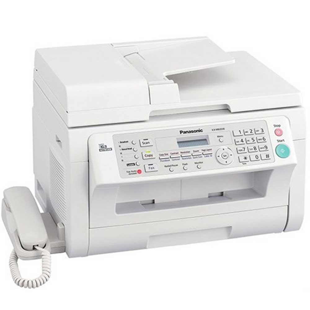 تصویر پرينتر چند کاره پاناسونيک با گوشي مدل MB2025CX Panasonic MB2025CX Multifunction Laser Printer