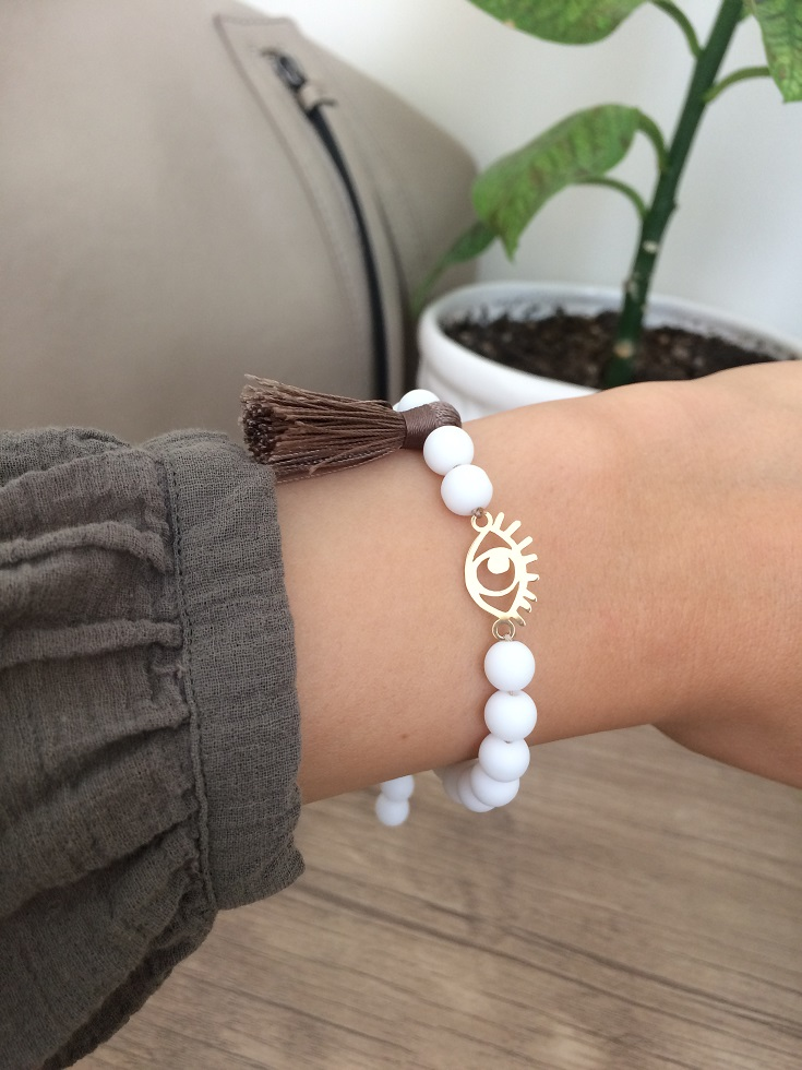 دستبند طلا طرح چشم | Gold Bracelets
