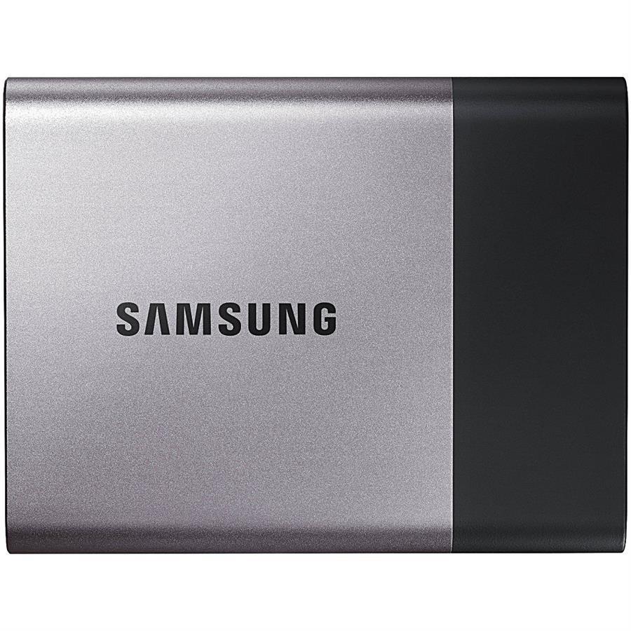 تصویر حافظه اس اس دی قابل حمل سامسونگ مدل تی ۳ با ظرفیت ۲۵۰ گیگابایت SAMSUNG T3 USB 3.1 Portable External Solid State Drive 250GB