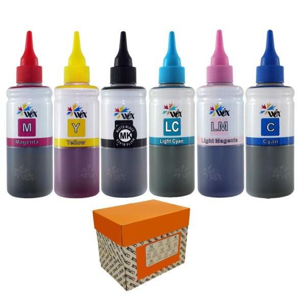 تصویر جوهر 100 سی سی وکس اپسون Epson WOX SUBLIMATION Ink 100cc-PACK