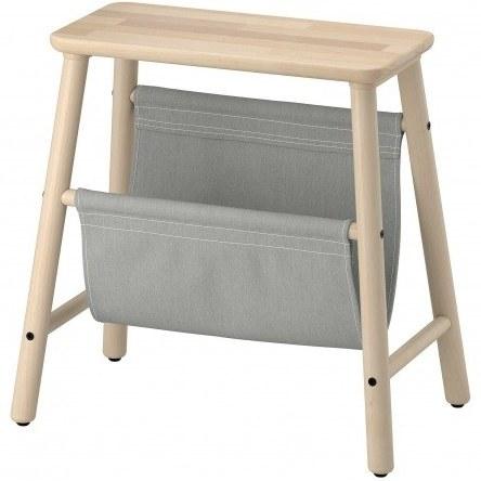 تصویر چهارپایه چوبی ایکیا VILTO