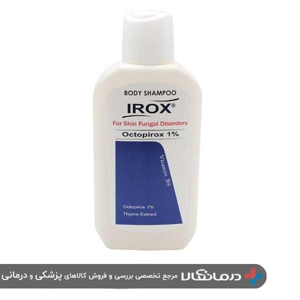 تصویر شامپو بدن ضد قارچ ایروکس Irox Octopirox 1% Bady Shampoo