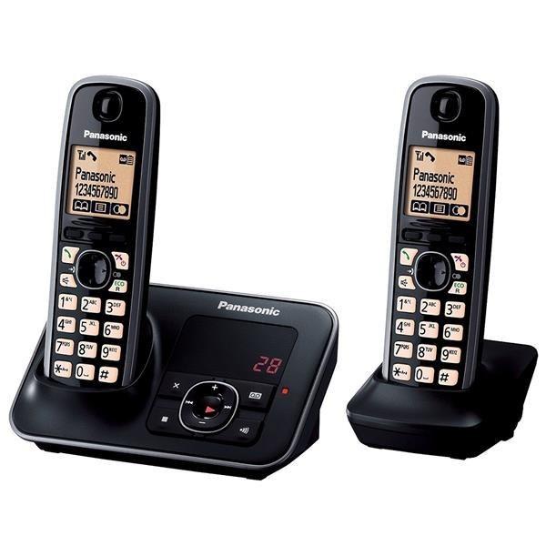 تصویر گوشی تلفن بی سیم پاناسونیک مدل KX-TG6622 ا Panasonic KX-TG6622 Cordless Phone Panasonic KX-TG6622 Cordless Phone
