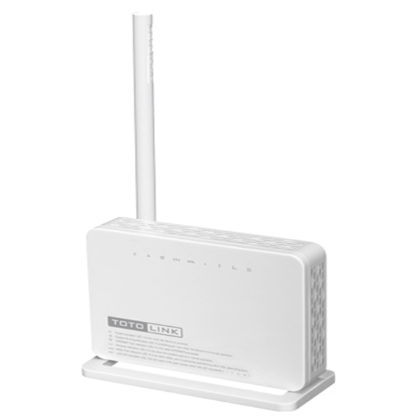 تصویر مودم روتر بیسیم توتولینک سری ADSL2/2 مدل ND150 مودم روتر ADSL توتولینک ND150 ADSL2/2 + Wireless N Modem Router