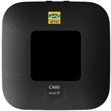 تصویر مودم همراه ۴.۵G بیسیم و قابل حمل ایرانسل مدل CA۶۰ Irancell CA60 Cat6 LTE Wi-Fi Portable Modem