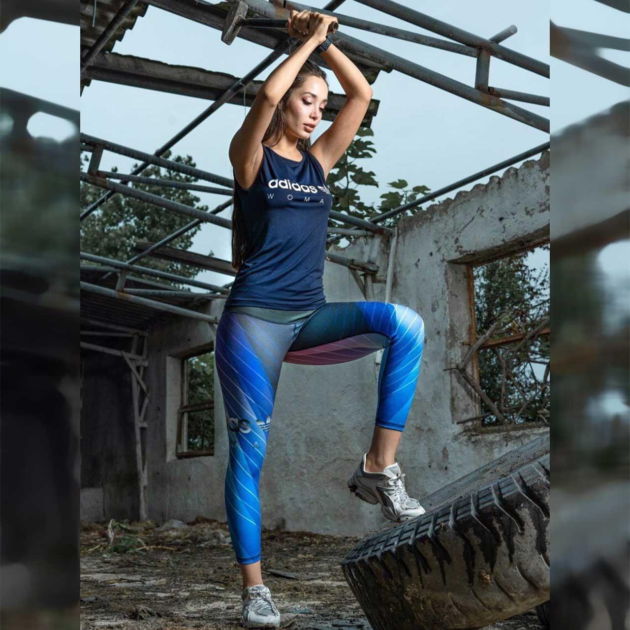 ست ورزشی تاپ لگ پاتیک SS-33543