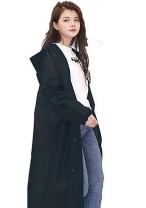 تصویر خرید انلاین بارانی زنانه طرح دار برند asmy رنگ مشکی کد ty86986333
