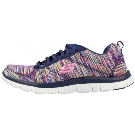 کفش پیاده روی زنانه اسکیچرز مدل Whirl wind bluemulticolor Women Urban S