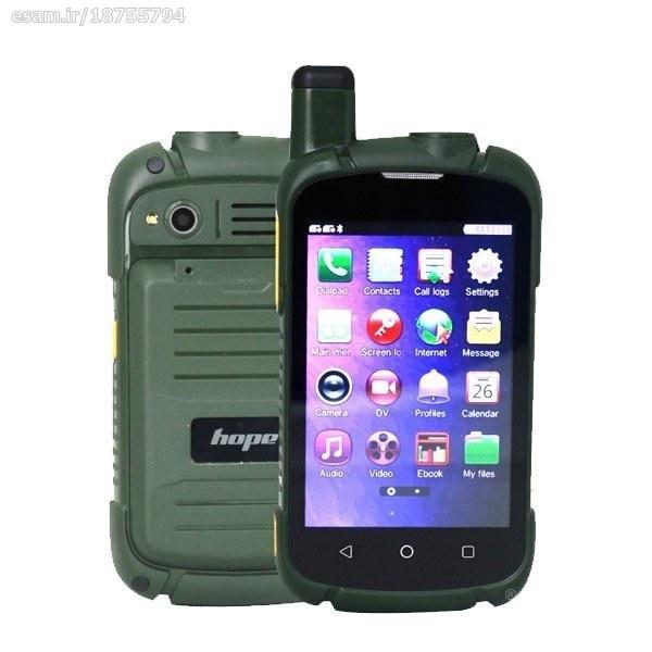 تصویر گوشی موبایل ساده لمسی هوپ hope k2020 اورجینال tv hope k2020 dual sim orginal black tv