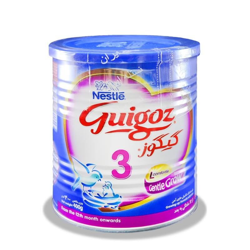 شیرخشک گیگوز ۳ نستله Nestle Gigoz 3 Milk |