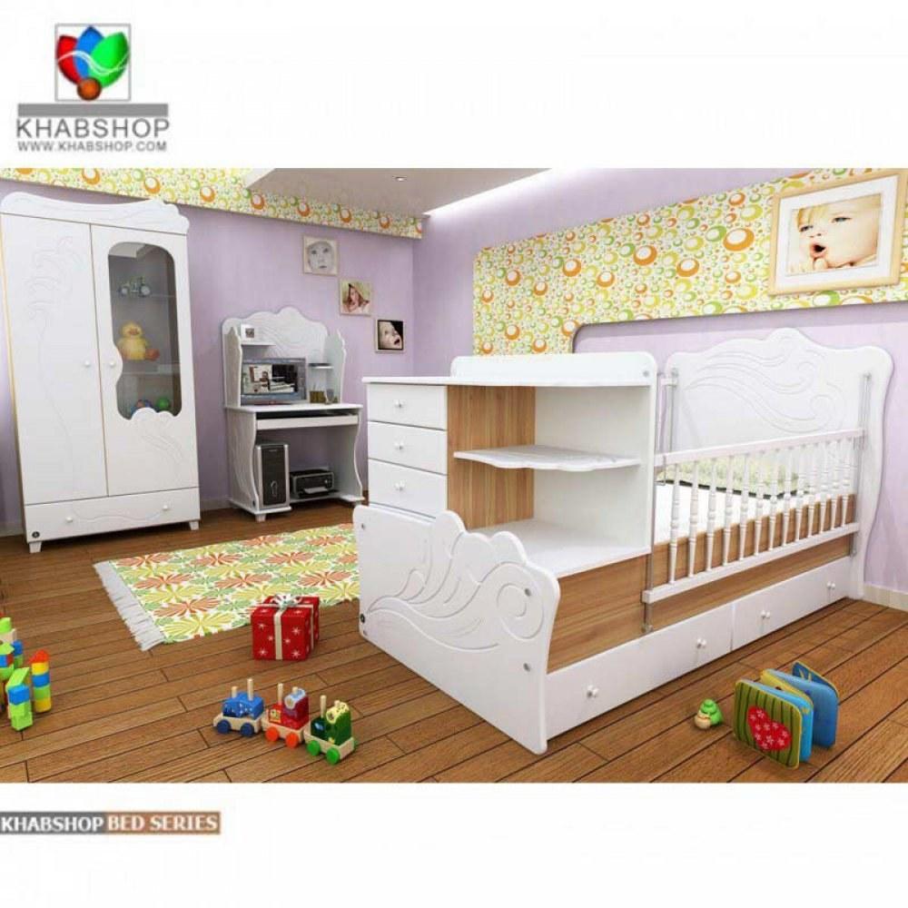 تخت خواب کودک و نوجوان مدل B707 |