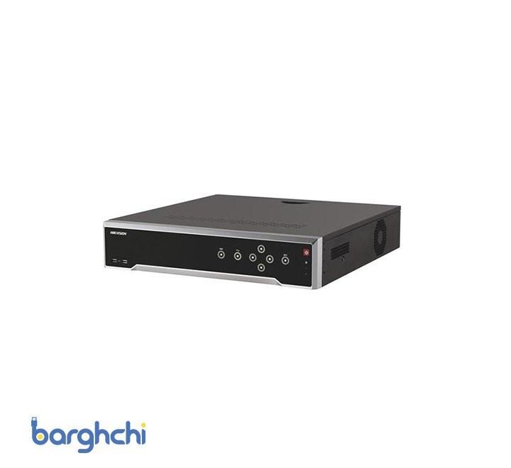 تصویر دستگاه ضبط کننده تصویر NVR سی و دو کانال هایک ویژن مدل DS-7732NI-K4/16P