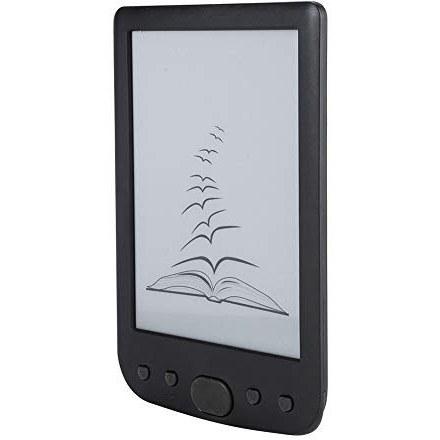 Ebook Reader ، 6 اینچ 800600 HD E کتابخوان با صفحه E-Ink و 2500MAH باتری بزرگ حداکثر 32 گیگ TF کارت برای کارگر دانشجویی (سیاه)