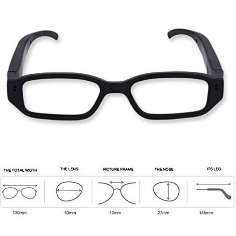 دوربین عینک کوچک قابل حمل HD عینک دوربین عینک عینک دیجیتال DVR دوربین ضبط کننده فیلم TG13X 720P برای لوازم جانبی ورزشی در فضای باز