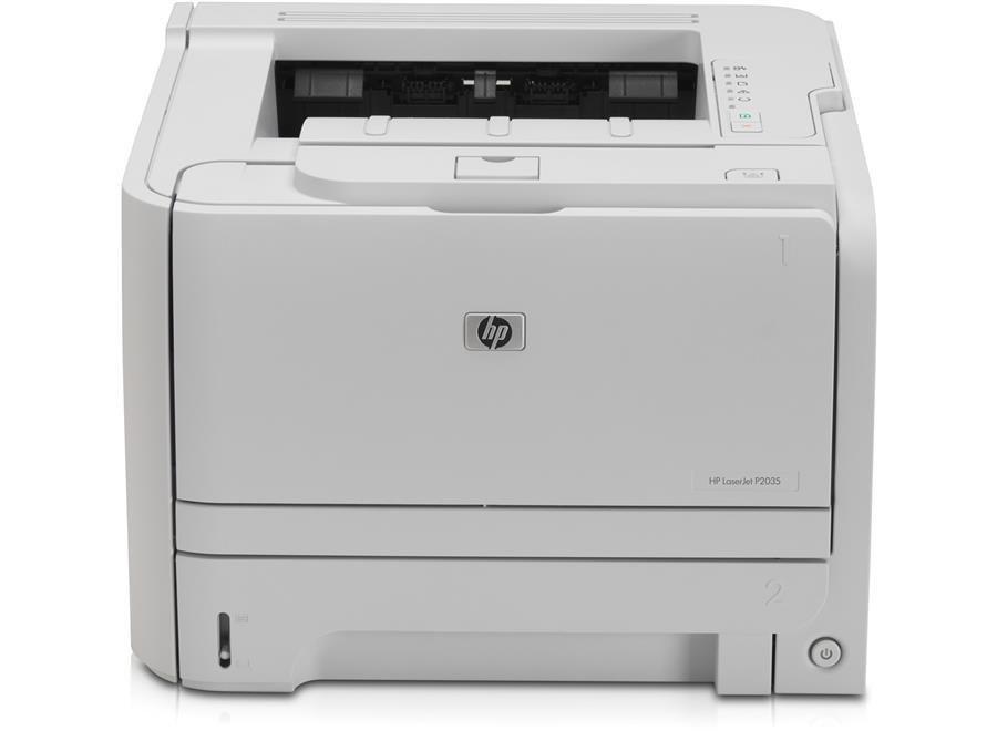 تصویر پرینتر لیزری اچ پی مدل LaserJet P2035 ا HP LaserJet P2035 Laser Printer HP LaserJet P2035 Laser Printer