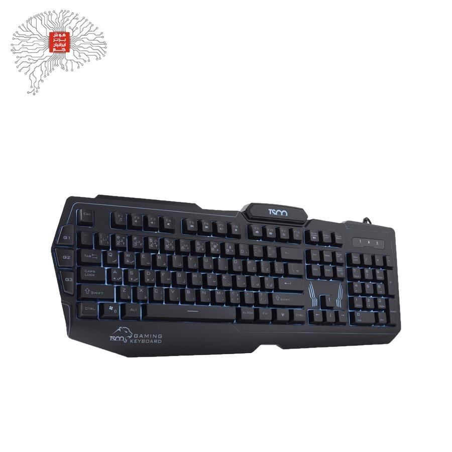 تصویر کیبورد تسکو مدل  TK 8121L Tsco TK 8121L Keyboard