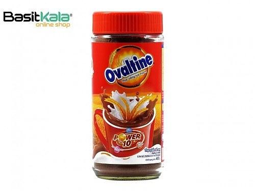 تصویر پودر شیر شکلات همراه با غلات 400 گرمی اوالتین OVALTINE