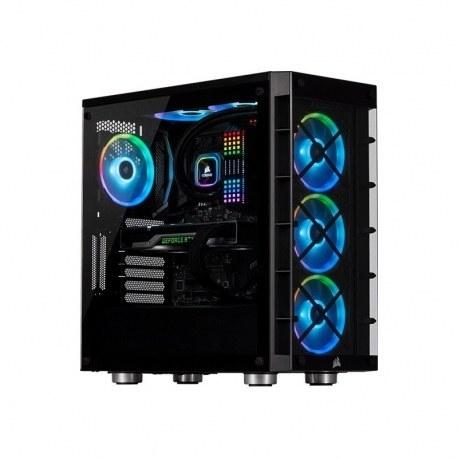 تصویر کامپیوتر گیمینگ DRAGON AMD Ryzen7 5800X Sapphire RX 6800XT 32G D6 RAM 32G SN550 1T M2 + 2TB