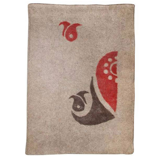 تصویر نمد فرش 4متری گالری ماها طرح اسلیمی کد 1007