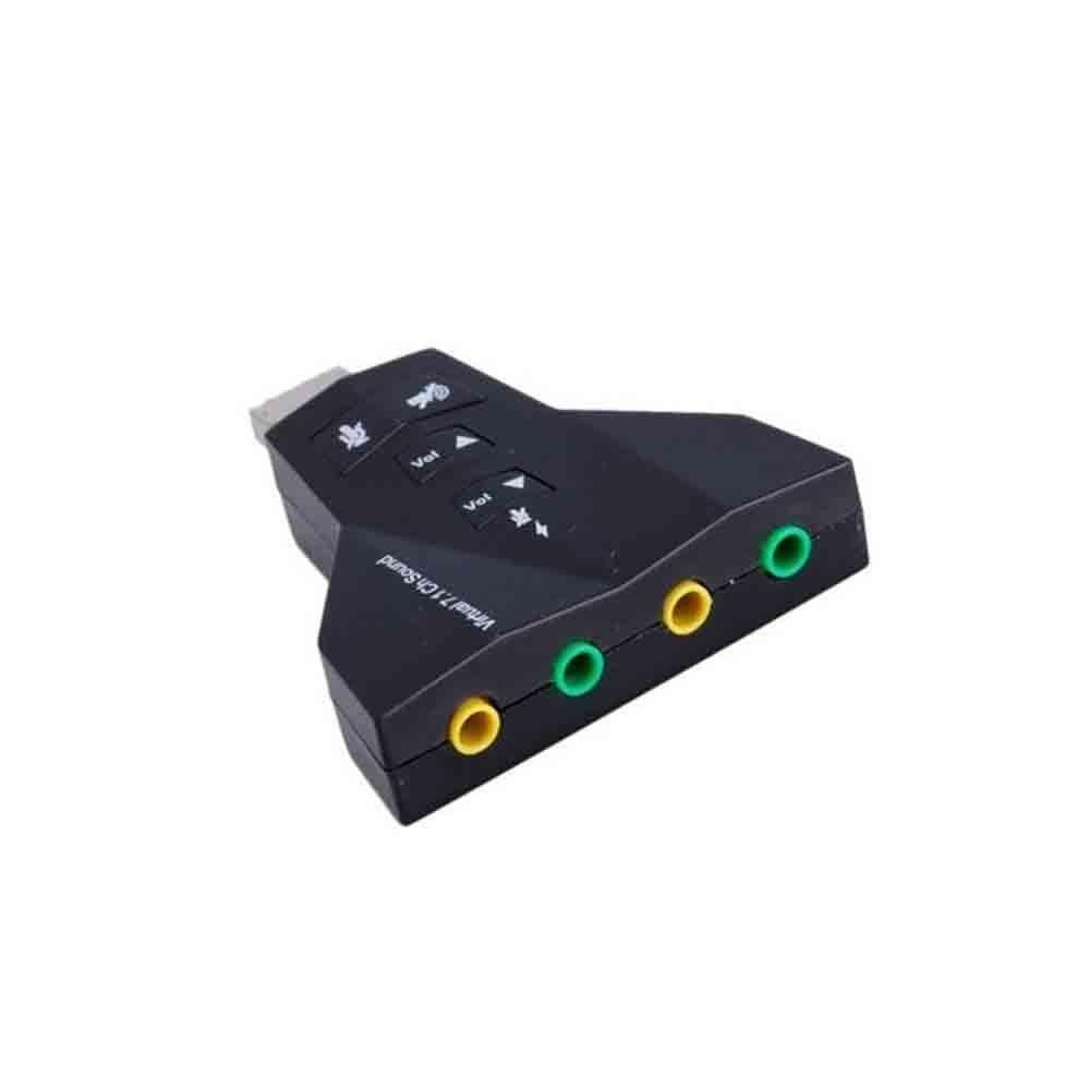تصویر USB Sound Card RS-702   كارت صوتی 7 كاناله USB رویال