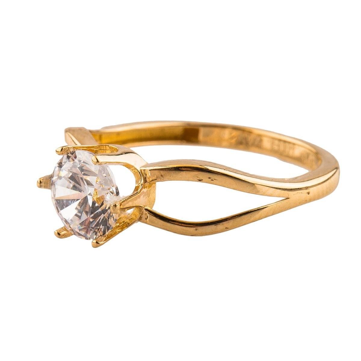 انگشتر طلا18 عیار مدل 6013