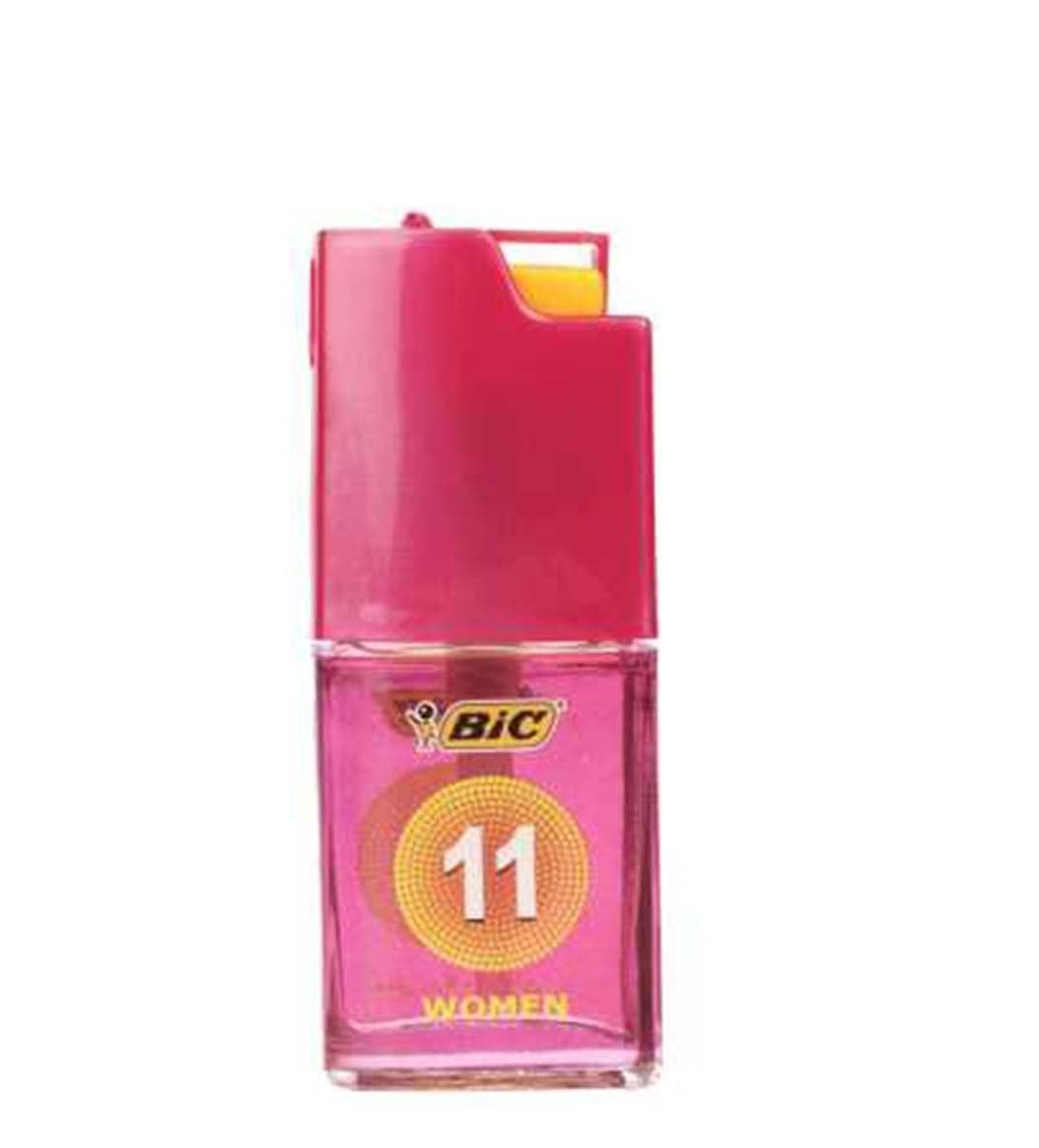 اسپری زنانه بیک مدل 11حجم 150 میلی لیتر به همراه عطر جیبی زنانه بیک مدل 11حجم 7 میلی لیتر