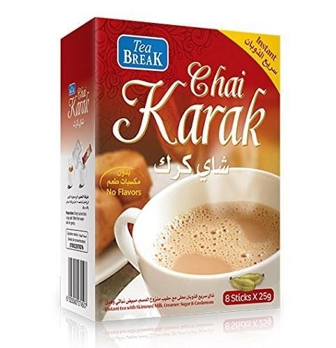 تصویر شیر چای بریک کرک 8 عددی Karak Break Tea