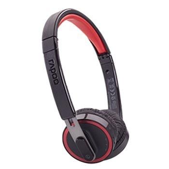 عکس هدست بي سيم فشن رپو H3080 Rapoo Fashion BT H3080 Headset هدست-بی-سیم-فشن-رپو-h3080