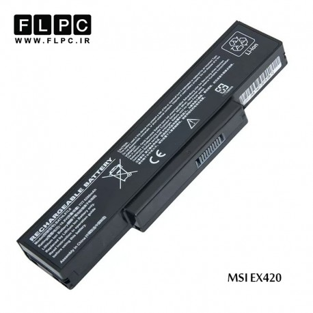 main images باطری لپ تاپ ام اس آی MSI laptop battery EX420 -6cell