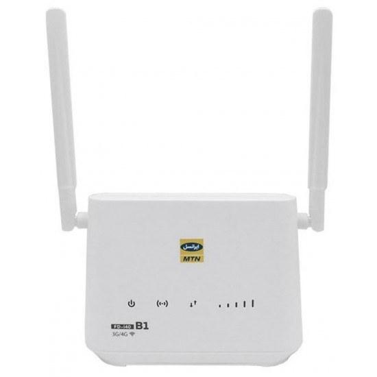 تصویر مودم 3G/4G ایرانسل مدل FD-i40 B1 با سیم کارت و بسته اینترنتی (Modem IranCell 3G/4G i4-B1)