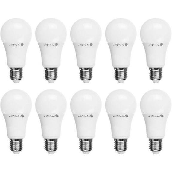 لامپ ال ای دی پارس شعاع توس ۱۲ وات بسته ۱۰ عددی | ParsShoaToos LED Light 12W E27