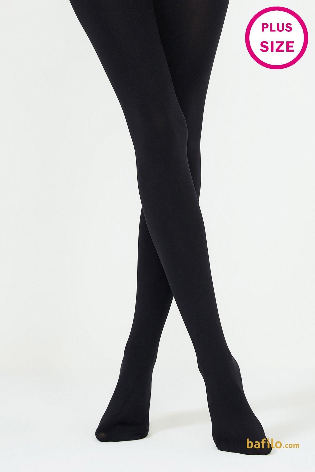 عکس جوراب شلواری ضخیم سایز بزرگ پنتی Mikro 200 - مشکی | پنتی | Penti  جوراب-شلواری-ضخیم-سایز-بزرگ-پنتی-mikro-200-مشکی-پنتی-penti