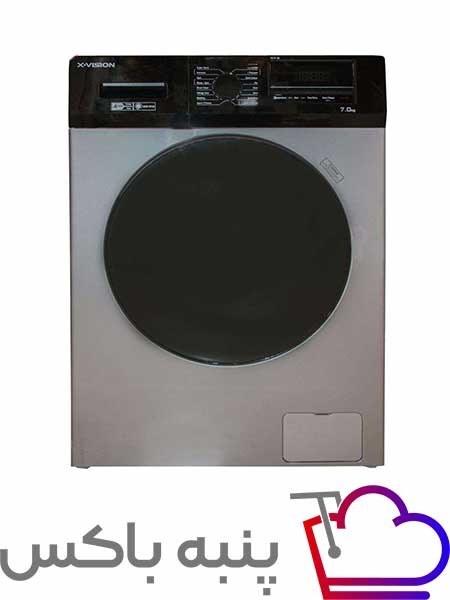 تصویر ماشین لباسشویی ایکس ویژن مدل TG72 TG72