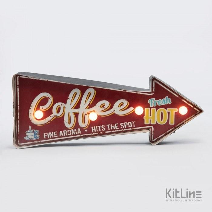 main images تابلو LED مدل Coffee fresh hot