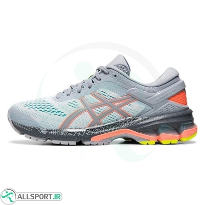 کتانی رانینگ زنانه اسیکس Asics Gel Kayano 26 Grey