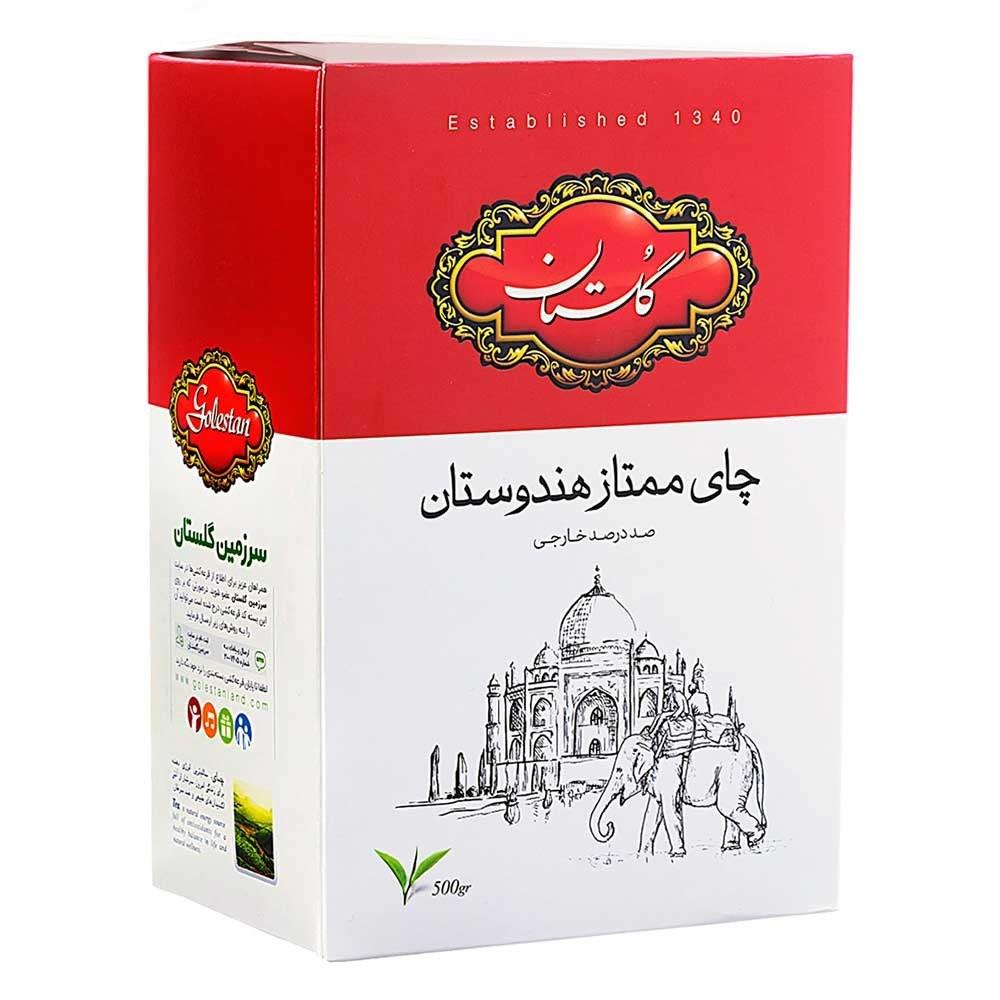 تصویر چای سیاه گلستان مدل ممتاز هندوستان - 500 گرم Golestan Premium Indian - 500 gr
