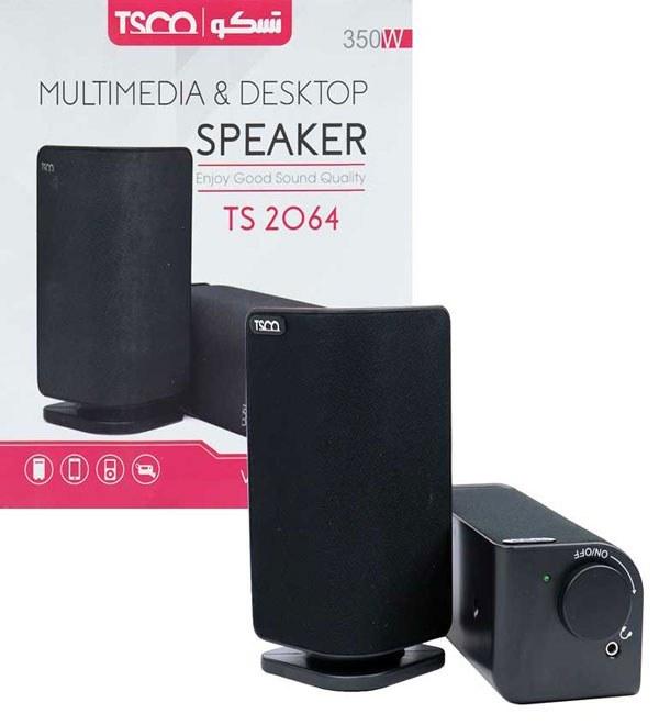 main images اسپیکر رومیزی تسکو مدل TS 2064 TSCO TS 2064 Desktop Speaker