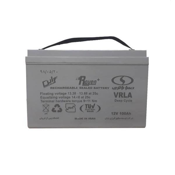 تصویر باتری 12 ولت 100 آمپر صبا باتری - Saba Battery