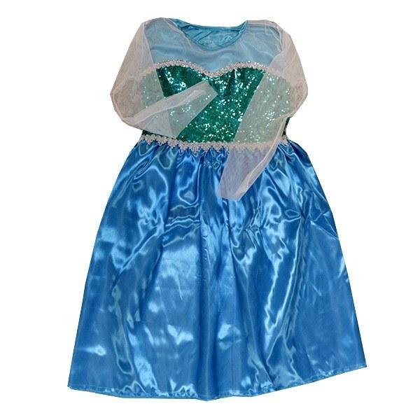 تصویر ست تاج و لباس کودک فروزن