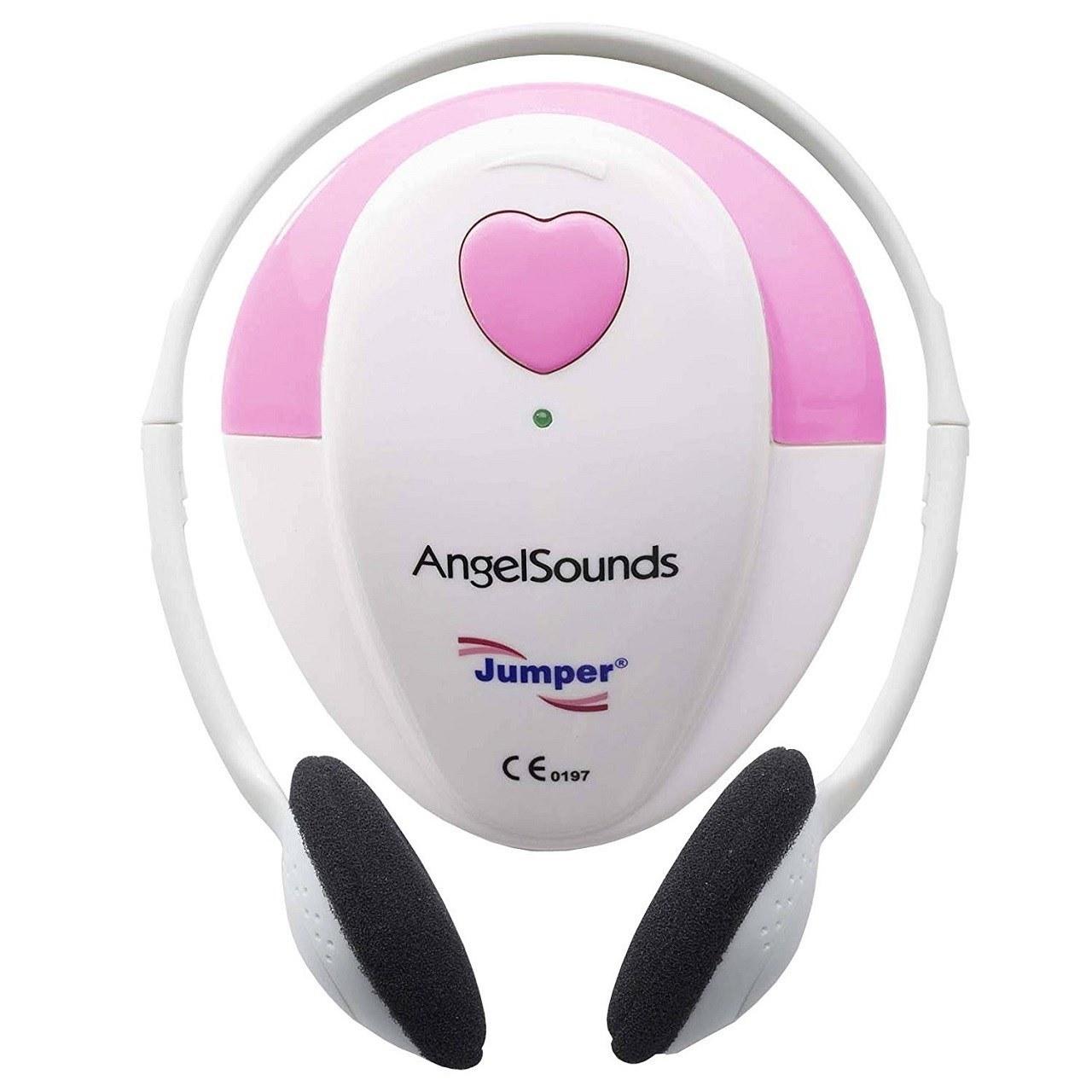 عکس دستگاه شنود و ضبط صدای قلب جنین جامپر مدل ZM 100S                             Jumper ZM 100S Fetal Doppler  دستگاه-شنود-و-ضبط-صدای-قلب-جنین-جامپر-مدل-zm-100s-jumper-zm-100s-fetal-doppler