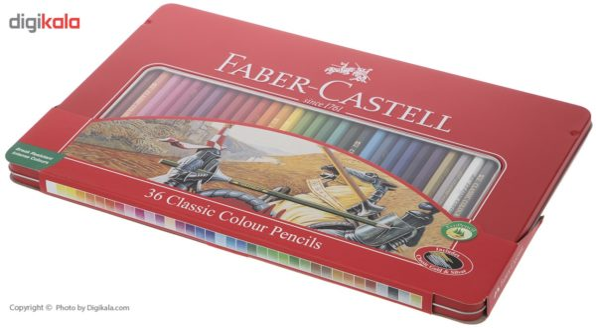 مداد رنگی 36 رنگ فابر کاستل مدل Classic Faber Castell Classic 36 Color Pencils  
