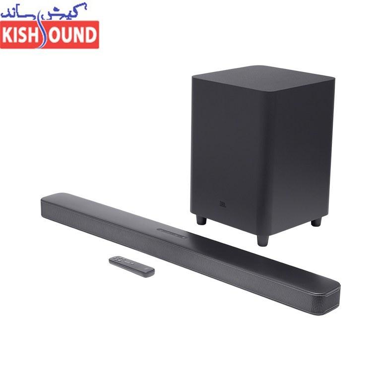 تصویر ساندبار 300 وات جی بی ال مدل بار 2.1 JBL Bar 2.1 - 300 Watt Soundbar