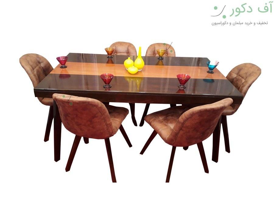 میز ناهار خوری 6 نفره چستر |