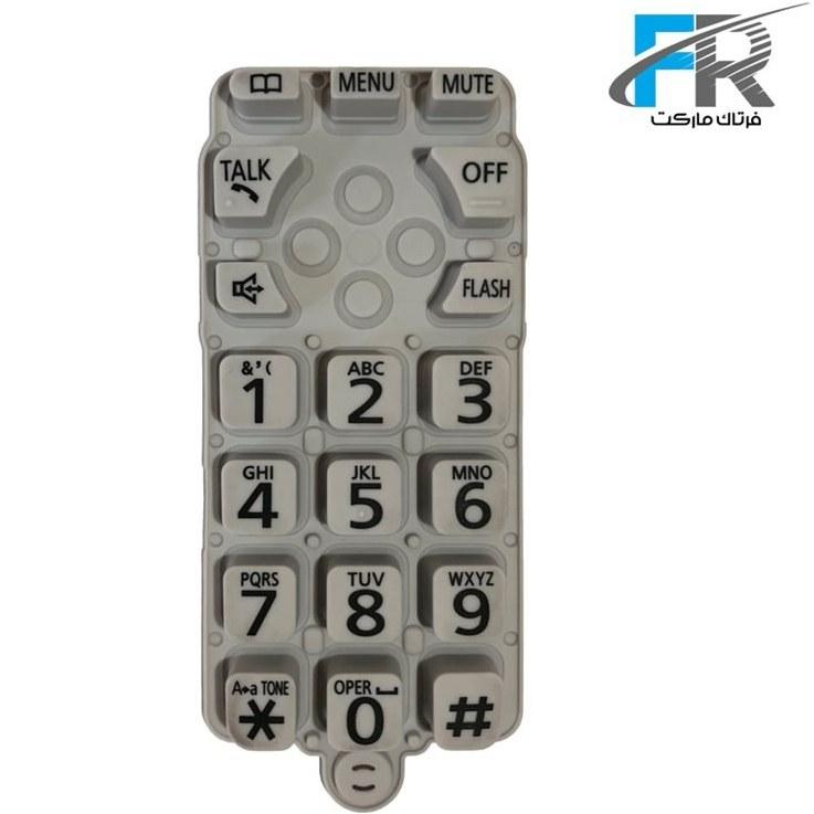 تصویر صفحه کلید یدکی گوشی بی سیم پاناسونیک KX-TGA402