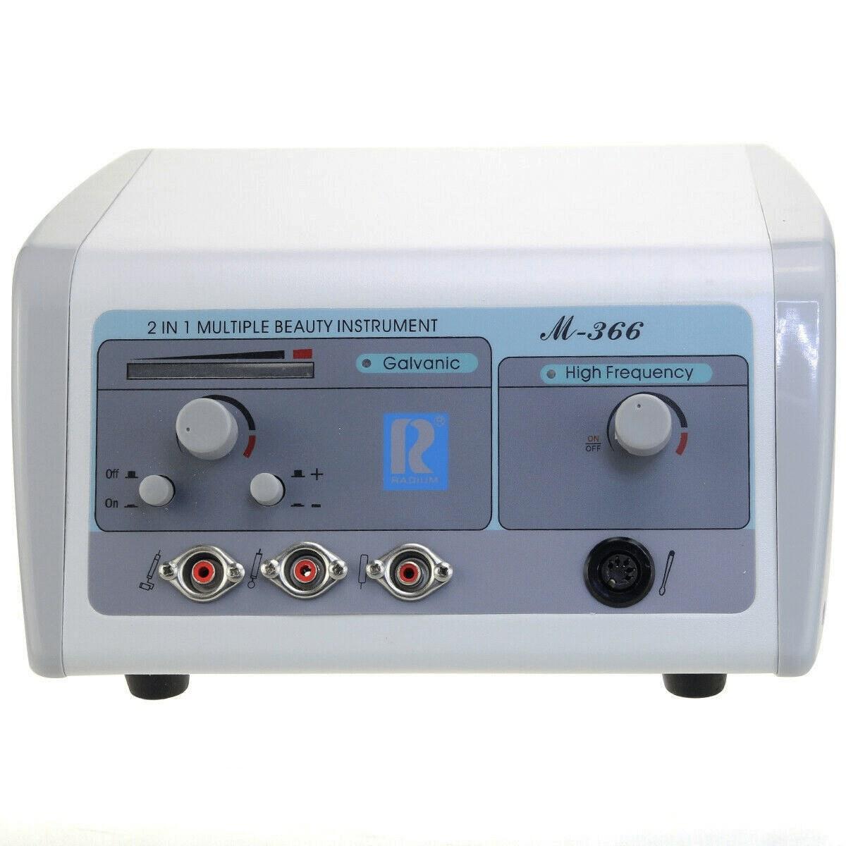 تصویر دستگاه هیدرودرمی (هایفرکانسی) و گالوانیک اورجینال با 1 سال گارانتی مدل  M-366